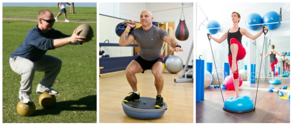 silly functional training collage